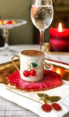 Coffee Love, Tea Time, Panna Cotta, Hot, Ethnic Recipes, Dulce De Leche