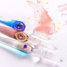 Titanium Pen for sighing Glass Art Lampwoking Glass Blowing Tools Glass Marker