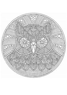 78 best mandalas to color images colouring pages colouring book mandala coloring - Mandala pour adulte ...