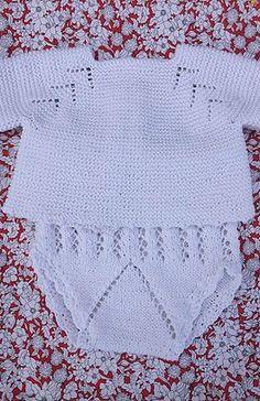 Ravelry: Jersey De Bebé Dori Pattern By - Diy Crafts - Knit & Share Baby Boy Knitting Patterns, Knitting For Kids, Baby Knitting, Crochet Patterns, Knitting Dolls Clothes, Knitted Baby Clothes, Baby Blanket Crochet, Crochet Baby, Diy Crafts Knitting