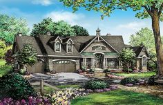 Superb Appeal And Spectacular Space HWBDO75907 Craftsman from BuilderHousePlans.com