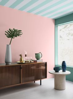 Miami Déco color paint series by Alcro.