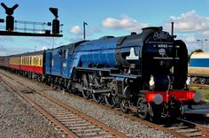 Tornado 60163 on The Cathedrals Express at Westbury