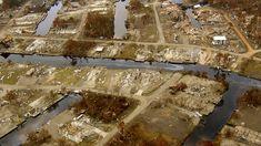 Waveland, Mississippi Neighborhood Obliterated