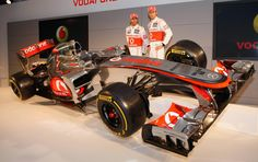 The new McLaren MP-27 Formula 1, February 1, 2012 in Woking, England