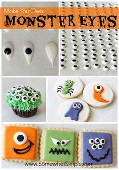 Monster eyes! So FUN!!!!