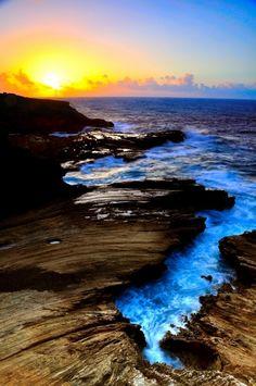 Lava Cliffs Hawaii