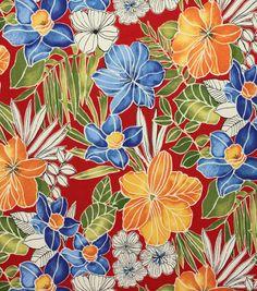 Solarium Outdoor Fabric-Aloha Garden