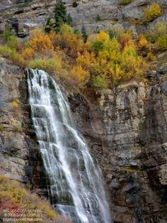 Bridal Veil Falls Provo Utah