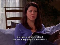 best show ever gilmore girls Babette Ate Oatmeal, Gilmore Girls Quotes, Glimore Girls, Lorelai Gilmore, Lauren Graham, Tv Quotes, Best Shows Ever, Best Tv, Make Me Smile