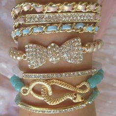 "Princess P. Jewelry Set ""Bittersweet"""