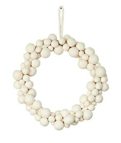 Felt Ball Wreath- west elm