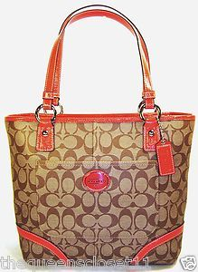 Coach Signature Peyton Tote Bag