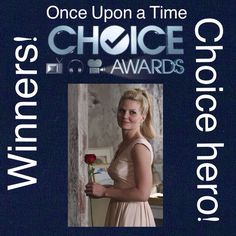 OUAT Choice Awards Results are here!!! Here is your winner for choice hero!! Emma Swan!