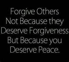 you deserve peace :)
