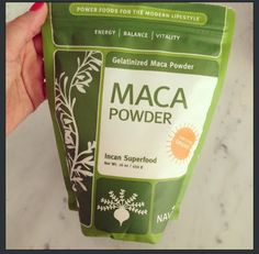 Maca Powder - Maca Root increases stamina, combats fatigue, boost libido and helps with hormonal balance Healthy Habits, Get Healthy, Healthy Tips, Healthy Cooking, Healthy Food, Health And Nutrition, Health And Wellness, Health Fitness, Plant Sterols