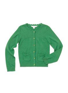 Pumpkin Patch - knitwear - carly rose cardi - S4EG30001 - bright green - 0-3m to 12