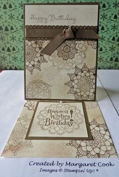 Perfect for Simple Memories - love the neutral colors---Do I have stamps to do this?  Something similar?