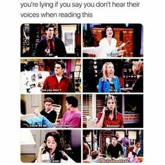 Trendy Funny Friends Tv Show Laughing Friends Tv Show, Friends Episodes, Friends Moments, Friends Series, Friends Forever, Friends Quotes Tv Show, Friends Cast, I Love My Friends, David Schwimmer