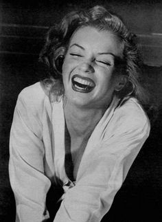 """Marilyn Monroe. Photo taken by Philippe Halsman in 1949 for a LIFE magazine article called """"Eight girls try out mixed emotions"""", October 10th, 1949."""