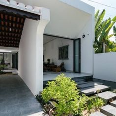 Khánh House | 6717 Studio | Kiến Việt net Studios, Garage Doors, House Design, Interior Design, Outdoor Decor, Furniture, Decoration, Home Decor, Garten
