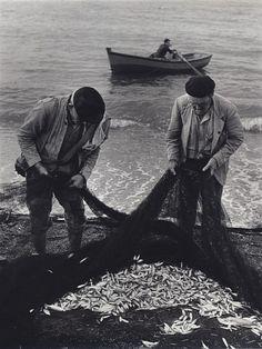 Jerome Liebling, Fishermen, Spain - 1966