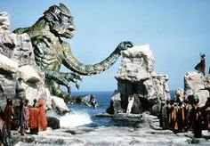 """The Kraken in Clash of the Titans ~ """"release the Kraken!"""" - twice the villain since he replaced the sea monster and plot from the original Perseus myth and stole the name of a Norwegian mythical beast that resembled an octopus. Fantasy Movies, Sci Fi Fantasy, Fantasy Characters, Godzilla, Le Choc Des Titans, Release The Kraken, Science Today, Science News, Clash Of The Titans"""