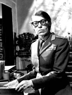 James Bond villain Lotte Lenya as Rosa Krebb in From Russia With Love