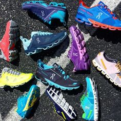 Float away with On running shoes today!
