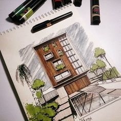#arquitectura #iarchitectures #ink #arquitetapage #arquitetura #arch_more #archilovers #archilovers #arch #art #architecture #architectural #urban #urbanism #papoarquiteto #copic #draw #drawing #sketchbook #sketching #sketch #archisketcher #architecturephotography #architexture #architectureporn