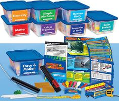 Learning Science Activity Tubs - Gr. 4-6 - Complete Set #lakeshoredreamclassroom