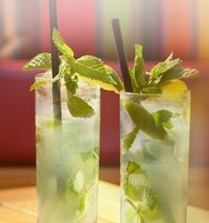 The Best Mojito Recipe....gonna try this with fresh mint from m garden!