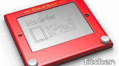 Etcher is set to bring nostalgia to the Apple iPad in the form of Etch A Sketch. It's the real thing!