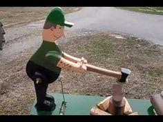 Lumberjack whirligig