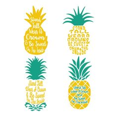 Pineapple Cuttable Design Cut File. Vector, Clipart, Digital Scrapbooking Download, Available in JPEG, PDF, EPS, DXF and SVG. Works with Cricut, Design Space, Cuts A Lot, Make the Cut!, Inkscape, CorelDraw, Adobe Illustrator, Silhouette Cameo, Brother ScanNCut and other software.