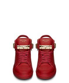 JON BUSCEMI 100MM GUTS RED MID TOP SNEAKER-SS14BUSC2 - Sneakerboy