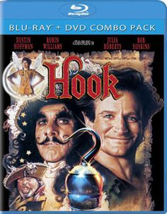 A high-flying adventure from the magic of Steven Spielberg, HOOK stars Robin Williams as a grown-up Peter Pan and Dustin Hoffman as the infamous Captain Hook. Joining the fun is Julia Roberts as Tinke...