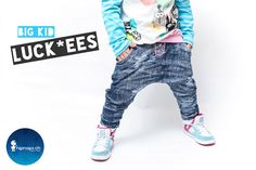 Big Kid Luckees Ebook - Sewing Tutorials at Makerist Big Kids, Baby Kind, Sewing Tutorials, Parachute Pants, Harem Pants, Overalls, Sweatpants, Slim, Couture