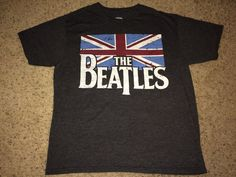 Sale Vintage THE BEATLES Gray T-shirt band tee by casualisme