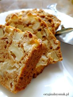 Próżniak | Oryginalny smak Pastry Recipes, Baking Recipes, Cookie Recipes, Dessert Recipes, Polish Desserts, Kolaci I Torte, Banana Pudding Recipes, Food Cakes, I Love Food
