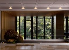 Lobby view of the Four Seasons Kyoto by HBA Design