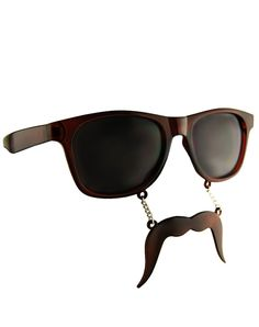 Mustache Glasses- awesome