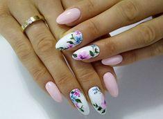 Spring design nail art