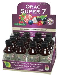 Get Antioxidant Health with Nature's Answer ORAC Super 7! #vitaminfix #fixpicks