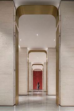 Ideas Hotel Door Design Hallways For 2019 Design Entrée, Lobby Design, Door Design, Hotel Corridor, Hotel Door, Hotel Interiors, Office Interiors, Lobby Interior, Interior Architecture