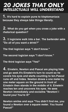20 Jokes That Only Geeks Will Understand [Pic] | Geeks are Sexy Technology News