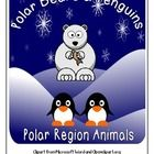 $4.99 Polar Bears and Penguins Polar Regions Thematic Unit. Prefect for Pre-K and K, and Homeschool!