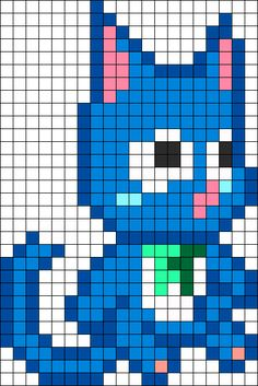 Happy Modified For One Large Pegboard bead pattern