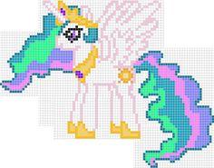 8-bit Celestia Sprite by ladypixelheart
