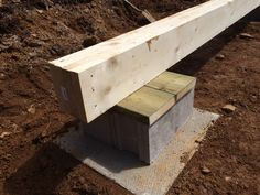 How to: Build a Rock Solid, Low Cost Off Grid Cabin Foundation - The Best Method For Building A Small Cabin Foundation Building A Small Cabin, Deck Building Plans, Building A Shed, Building Ideas, Building Design, Terrasse Design, Shed Construction, House Foundation, Shed Foundation Ideas